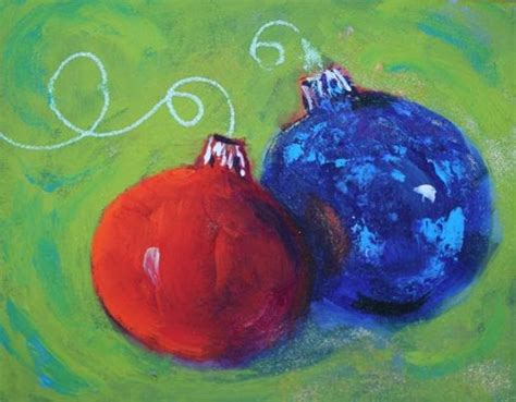 painting ornaments with acrylic paint whitehouse paintings celebration acrylic painting of ornaments by az artist