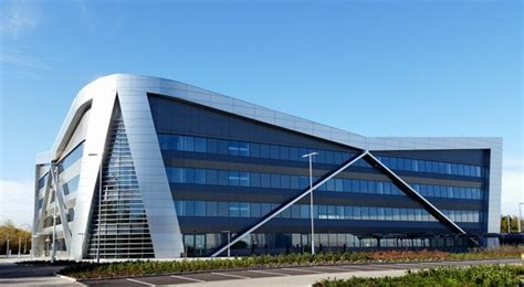 sustainable drainage system  vw headquarters sds esi external works