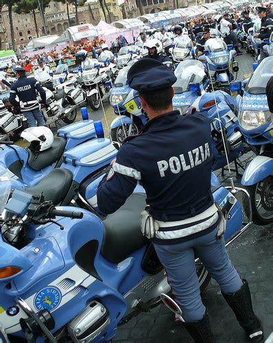 by the polizia di stato italian state police taken at a polizia polizia di stato italian motorcycle police giro d