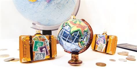 ornament gift ideas to remember travel ornaments to remember