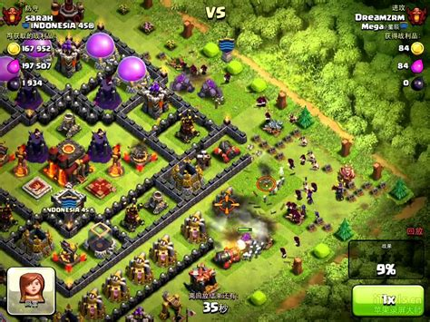 clash of clans best player clash of clans 星辰 top 1 player dreamzrm s attack youtube