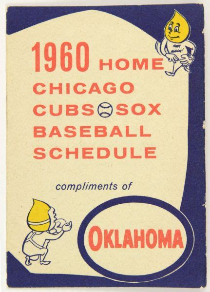 lot detail 1960 chicago cubs chicago white sox home