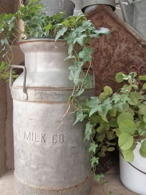 Milk Can Planter by 25 Best Ideas About Milk Cans On Milk Can Decor Milk Jugs And Decorating