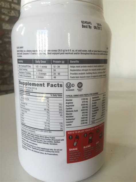 b protein ingredients gnc pro performance whey review do generic brands