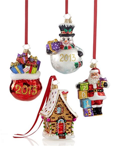 christopher radko 2013 macy s exclusive ornaments