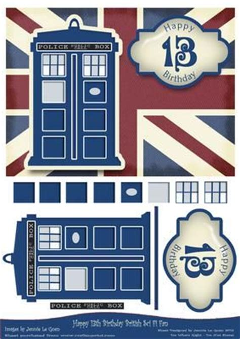 Dr Who Birthday Card Template Dr Who Birthday Party Pinterest Doctor Who Birthday Card Template