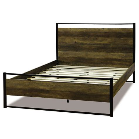 bed frames austin living co austin queen bed frame the warehouse