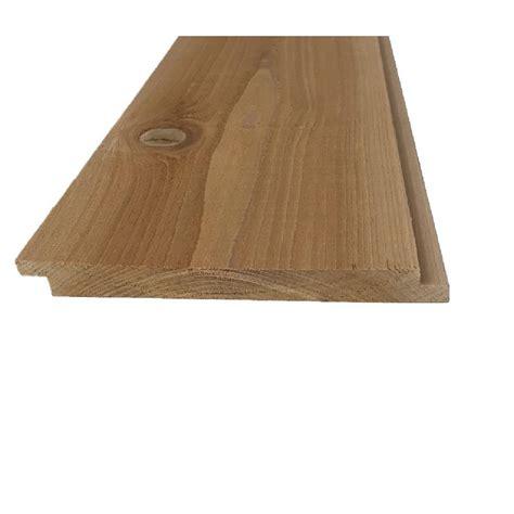 pattern stock primed shiplap board selkirk cedar 1 in x 8 in x 12 ft knotty cedar channel
