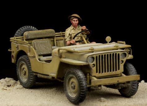 jeep tamiya british driver western desert ww ii for tamiya jeep 1 35