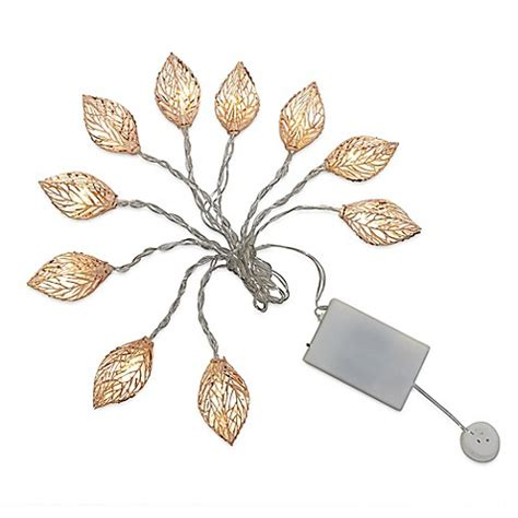 decorative novelty loft living 10 foot decorative novelty leaves string