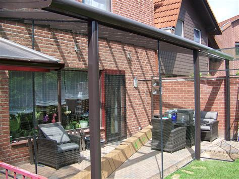 terrasse katzensicher katzengehege auf terrasse in hannover katzennetze nrw