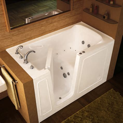walking bathtub walk in tubs senior solution smart home safety and