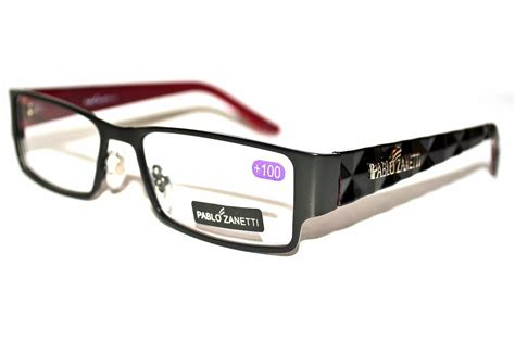 pablo zanetti trendy quilted arm reading glasses pz8