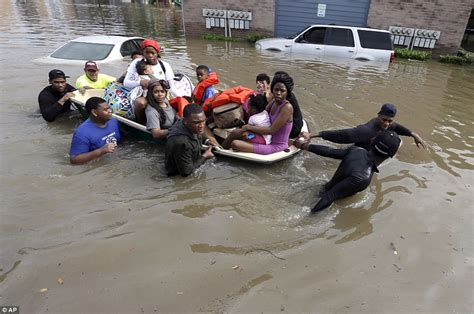 boat show houston today houston flooding sees five dead after a month of rain fell