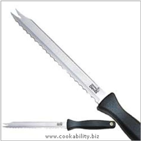 kitchen devils knives kitchen devils meat and bread knife 602007 uk