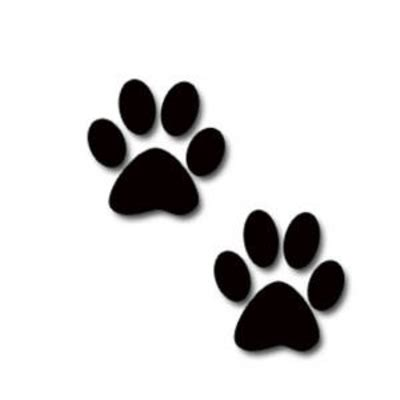 pictures of paws paw print clip free clipart panda free clipart images