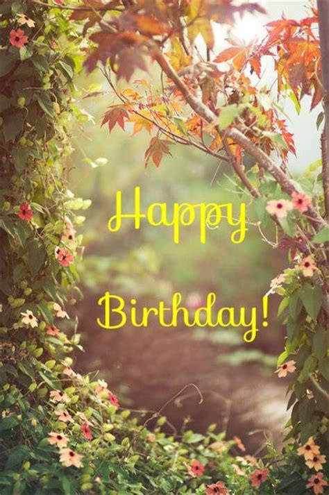 Happy Birthday With Flowers Pictures Photos And Images Garden Wish Flower