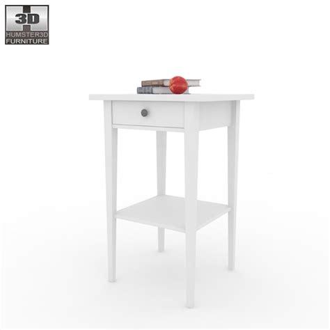 ikea hemnes bed 2 3d model humster3d ikea hemnes bedside table 3 3d model hum3d