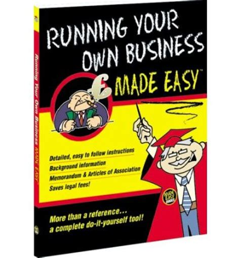 Run Your Own Corporation running your own business made easy roy hedges 9781902646473