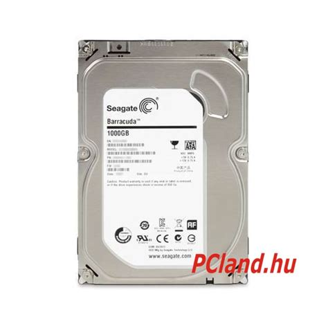 Seagate Barracuda 1tb Sata3 3 5 seagate barracuda hdd 1tb 7200rpm 64mb sata3 3 5
