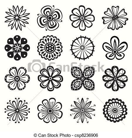 10 best flower outlines images on pinterest