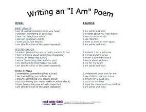 I Am From Template by I Am Poem Template Hti3gt2t Lesson Plans