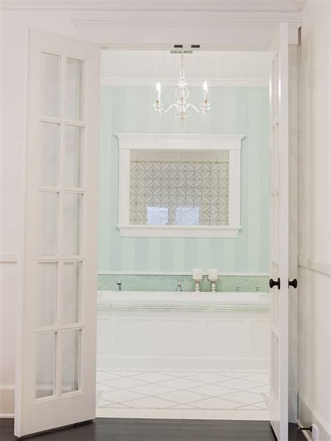 bathroom french doors classic family home with coastal interiors home bunch