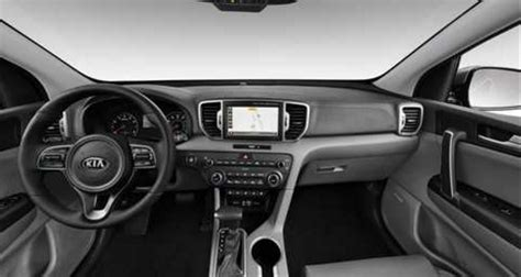 kia sportage 2017 interior 2017 kia sportage interior and exterior color options