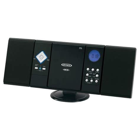 jensen wall mountable cd system  digital amfm stereo