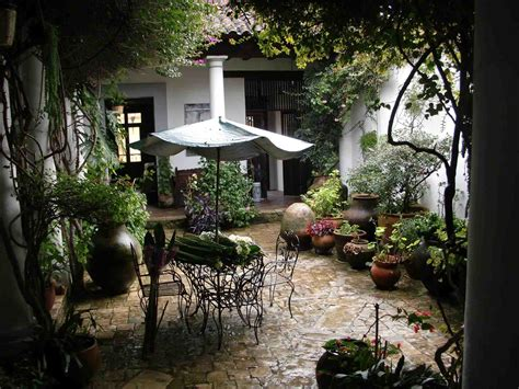 mexican hacienda courtyard in 2018 excation info