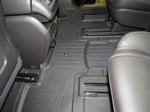 Weathertech Floor Mats For 2014 Buick Enclave Weathertech 2nd And 3rd Row Rear Auto Floor Mat Black