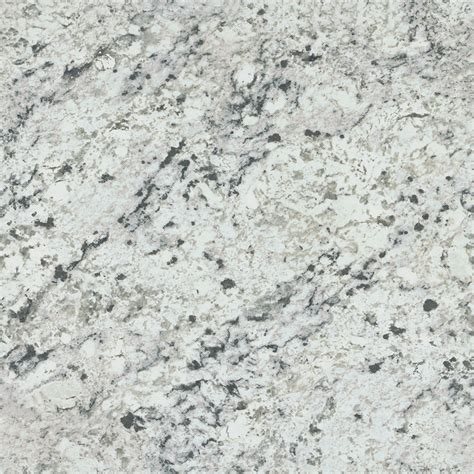 shop formica brand laminate patterns 30 in x 144 in white ice granite matte laminate kitchen
