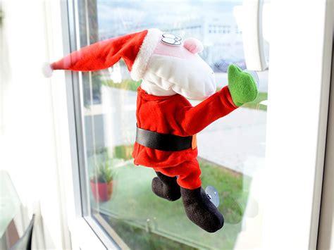 Weihnachtsdeko Fenster Mit Saugnapf by Infactory Animierte Weihnachtsdeko Singender Tanzender