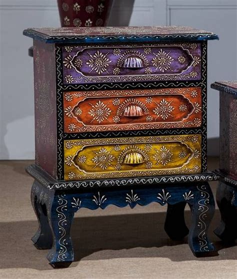 Three drawer colorful chest incd22 incd22 rs5 100 00 an online furniture store for
