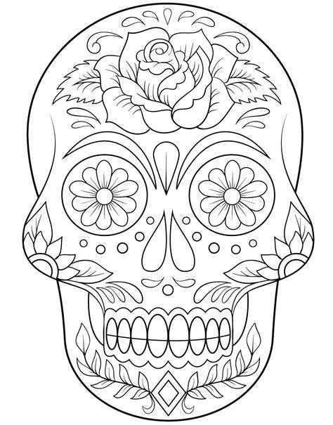Dibujos De Calaveras Para Imprimir Az Dibujos Para Colorear | dibujos de calaveras para imprimir az dibujos para