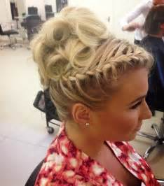 braided styles up do for hair on the sides copy towie s billie faiers plaited updo top tips from