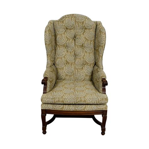 vintage second chairs 77 hickory hickory olive vintage accent chair chairs