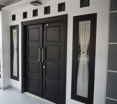 Belleza 2 Dua Pintu 65 model pintu rumah minimalis desainrumahnya