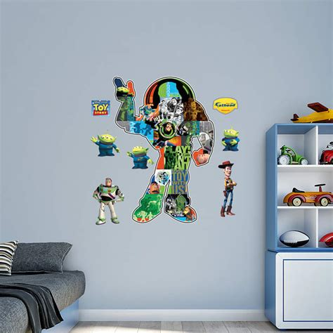 toy story home decor toy story montage wall decal shop fathead 174 for toy story decor