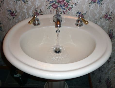 bathroom sink drain clogged unclog bathroom sink without chemicals clogged pics