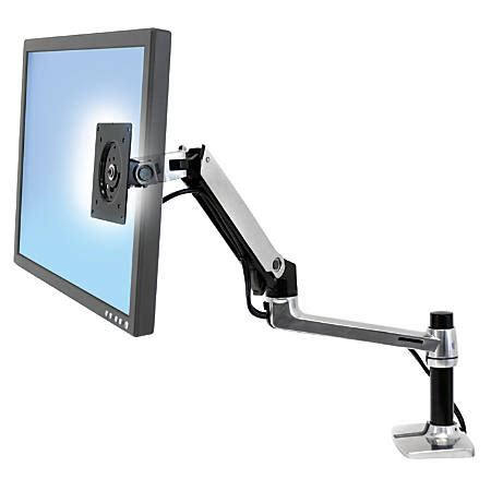 ergotron lx desk mount ergotron lx desk mount lcd arm by office depot officemax