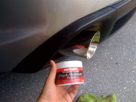 how to clean exhaust tips page 3 rx8club com