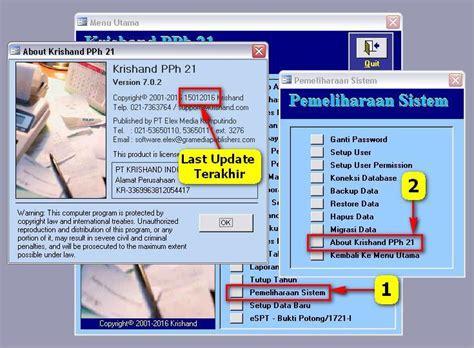 Cd Krishand Pph 21 Versi 7 0 1 cara install patch update krishand pph21