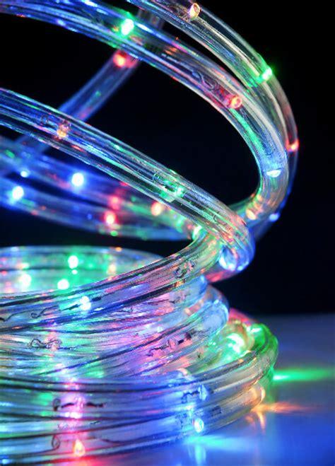 led rope lights  foot multicolor rgb   settings