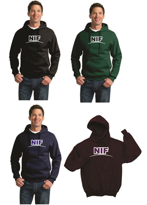 Applique Hooded Pullover nif two color applique hooded sweatshirt llesa store