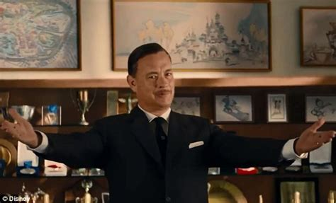 trailer saving mr banks tom hanks transforms into walt disney and tries to win