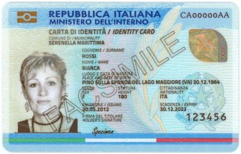russian id card template italian electronic identity card
