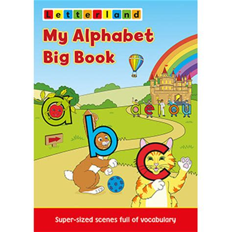 my alphabet book learning abc s alphabet a to z picture basic words book ages 2 7 for toddlers preschool kindergarten fundamentals series books my alphabet big book letterland child friendly phonics