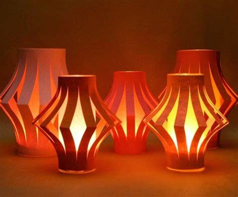 How To Make Diwali Paper Lanterns - design decor disha an indian design decor