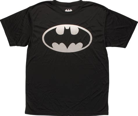 Tshirt Batman White batman gray classic logo polyester t shirt